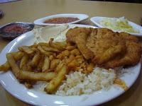 Erez schnitzel meal (Small)